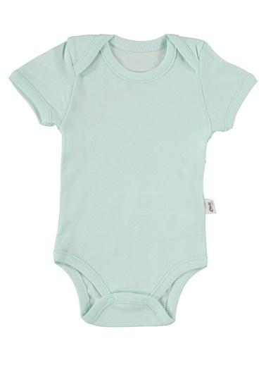 Civil Baby Bebek Çıtçıtlı Badi Mint Yeşili Yeşil